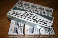 Par cigareu kontrabandu sodts ar Latvijas valstspiedergais